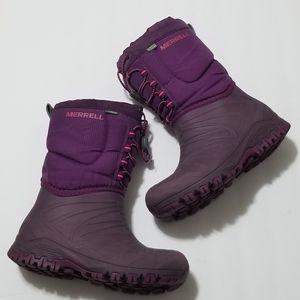 Merrell 1 Rain Winter Outdoor -40 Purple Boots